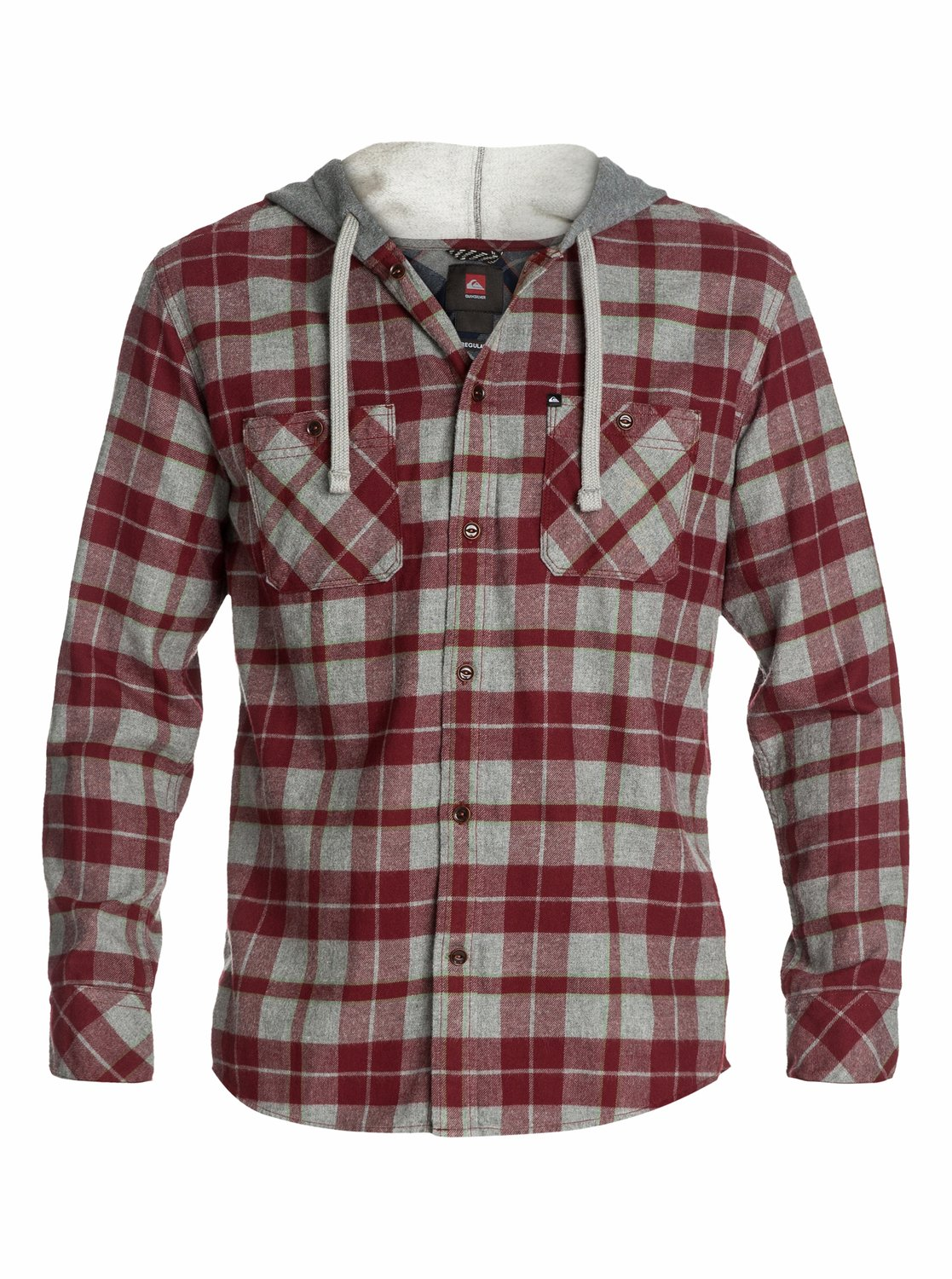 Puffer Hooded Long Sleeve Flannel Shirt EQYWT03006 | Quiksilver