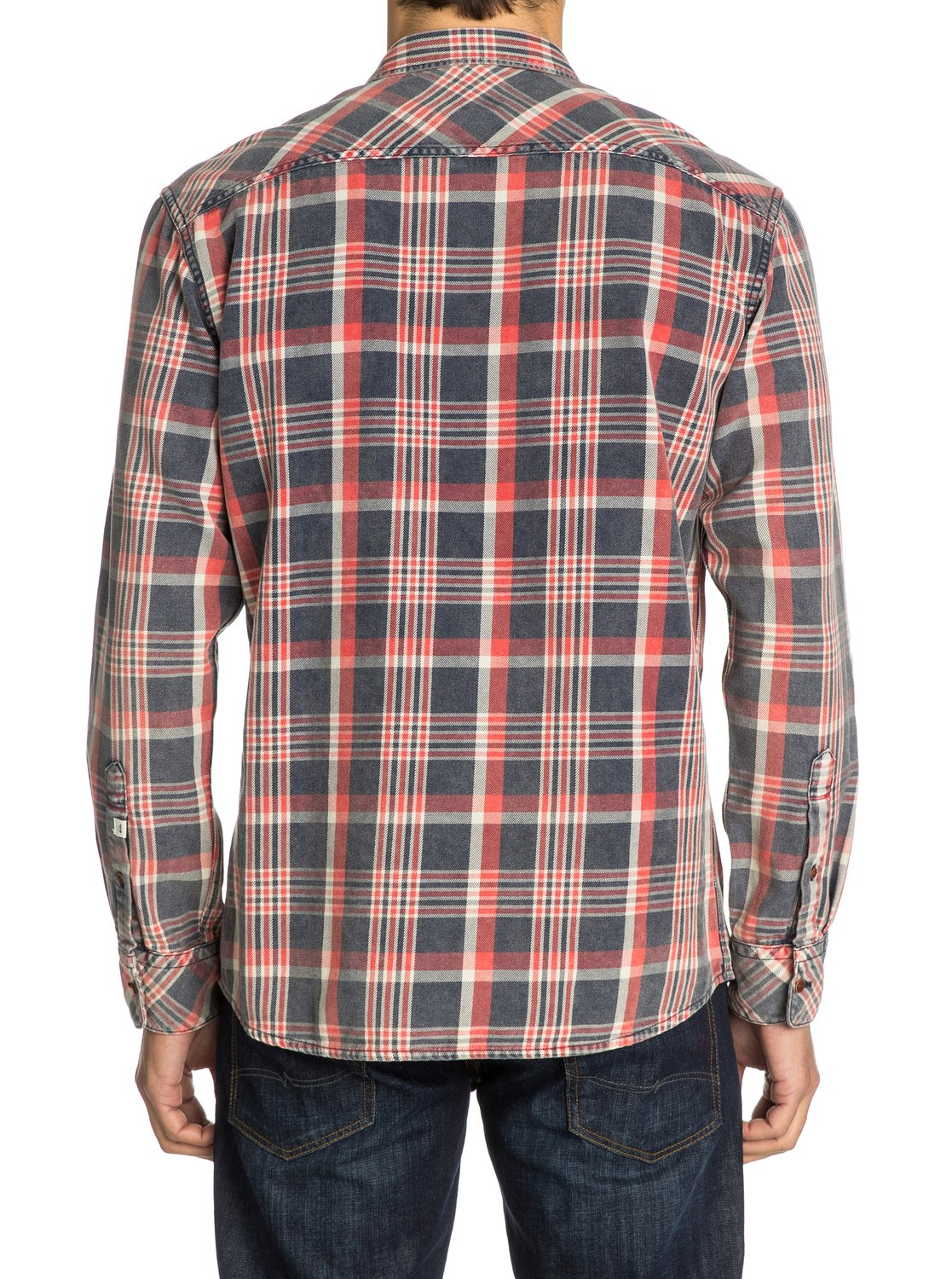 Tang long sleeve flannel shirt eqywt03011 quiksilver for Super soft flannel shirts