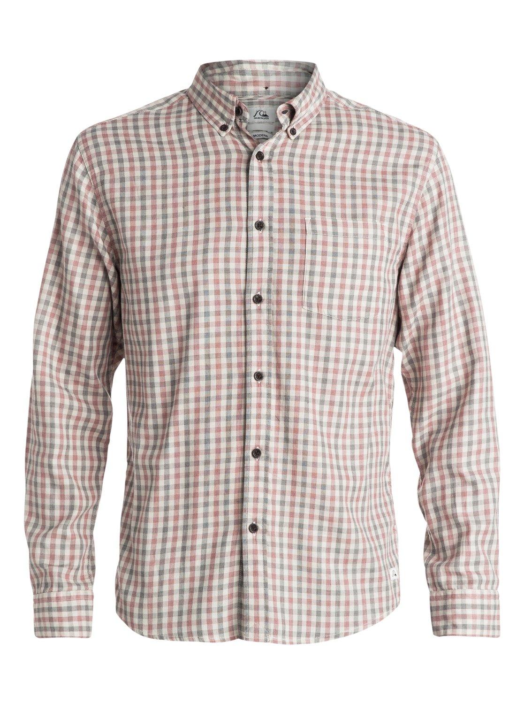 Northcatcher - QuiksilverМужская рубашка Northcatcher с длинным рукавом от Quiksilver. Характеристики: легкая мягкая фланель, современный крой, дизайн в клетку. <br>СОСТАВ: 100% хлопок.<br>