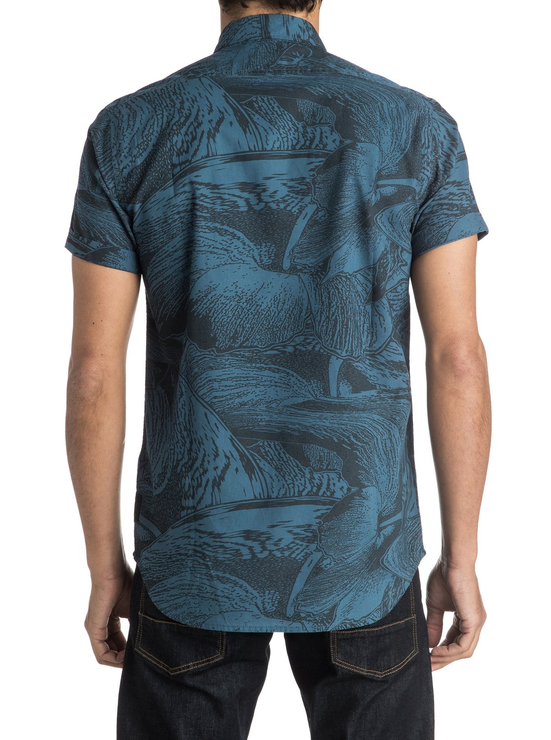 dark trip shirt chemise manches courtes 3613371272692 quiksilver. Black Bedroom Furniture Sets. Home Design Ideas