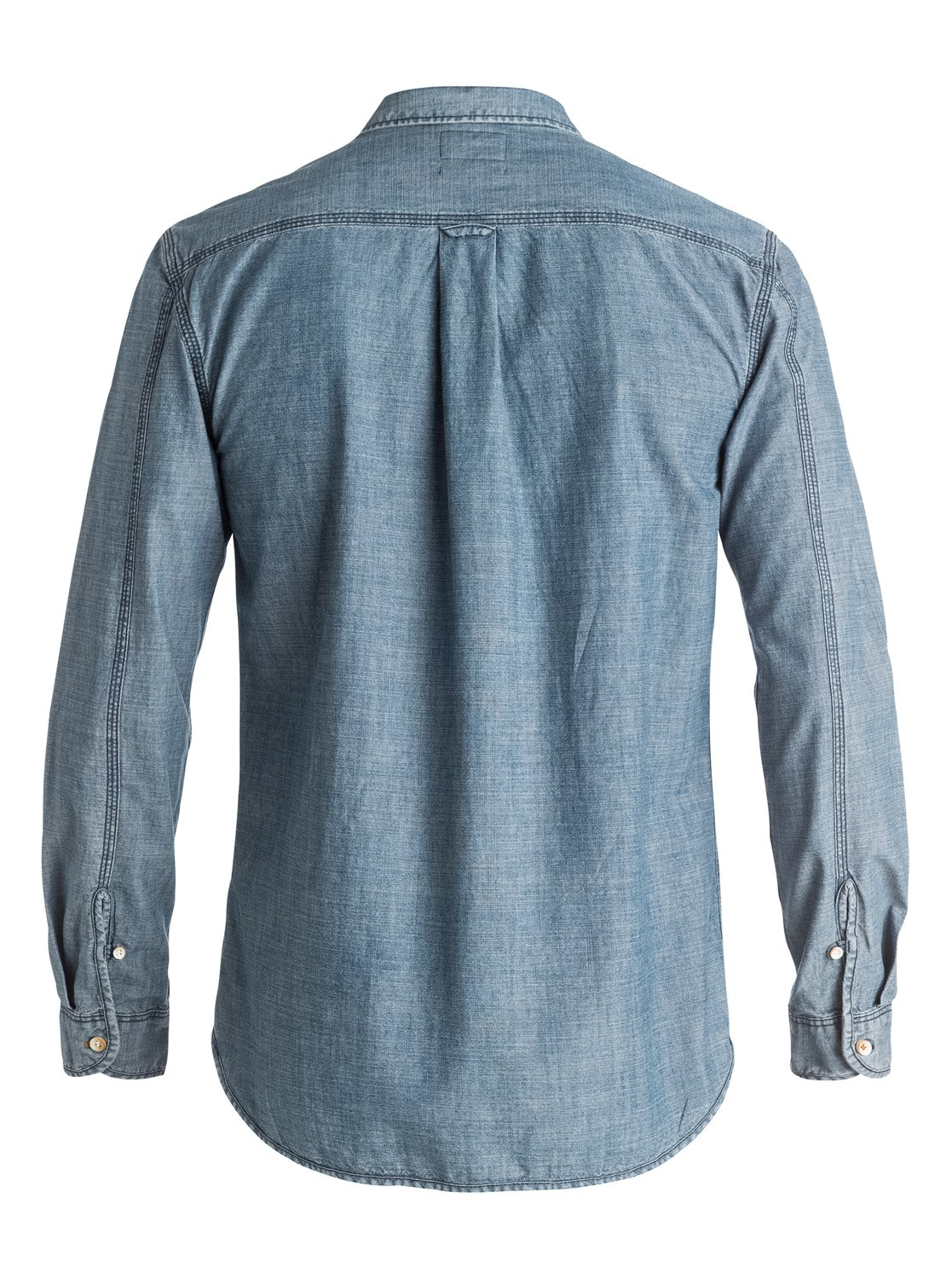 The chambray long sleeve shirt 3613371939243 quiksilver for Chambray long sleeve shirt