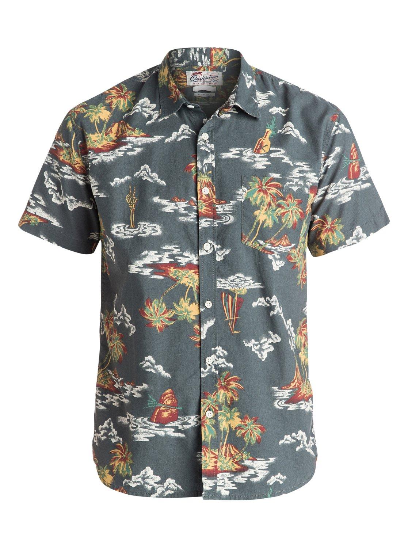 Island Apocalypse Short Sleeve Shirt EQYWT03409 | Quiksilver
