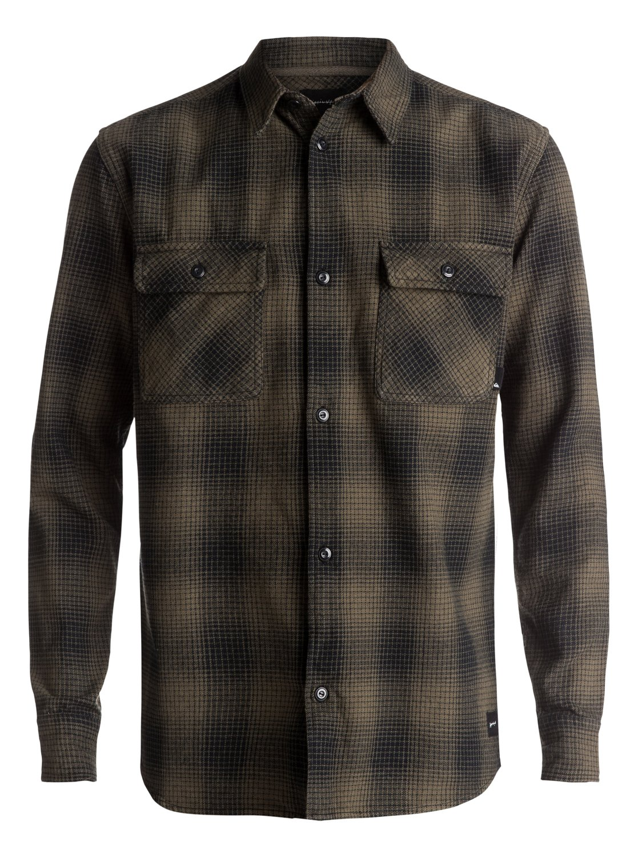 Venice Vice Flannel Long Sleeve Shirt EQYWT03546   Quiksilver