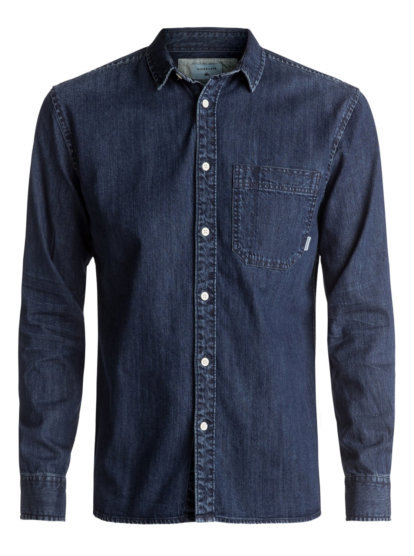 Denim Sula - chemise à manches longues pour homme - quiksilver