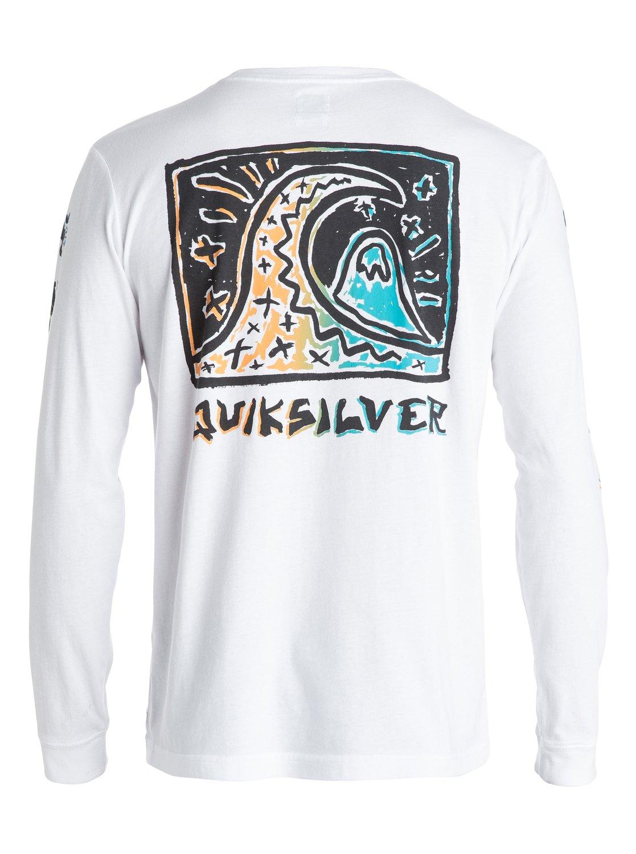 Surf Trip Long Sleeve T Shirt Eqyzt03378 Quiksilver