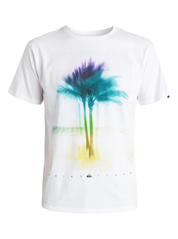 classic xray palms t shirt eqyzt03418 quiksilver. Black Bedroom Furniture Sets. Home Design Ideas
