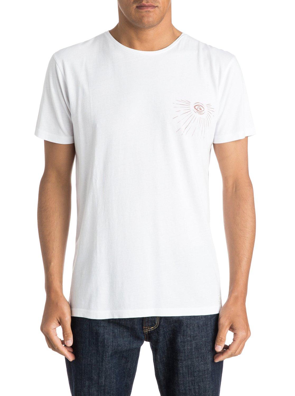 dead flat premium fit t shirt eqyzt03535 quiksilver