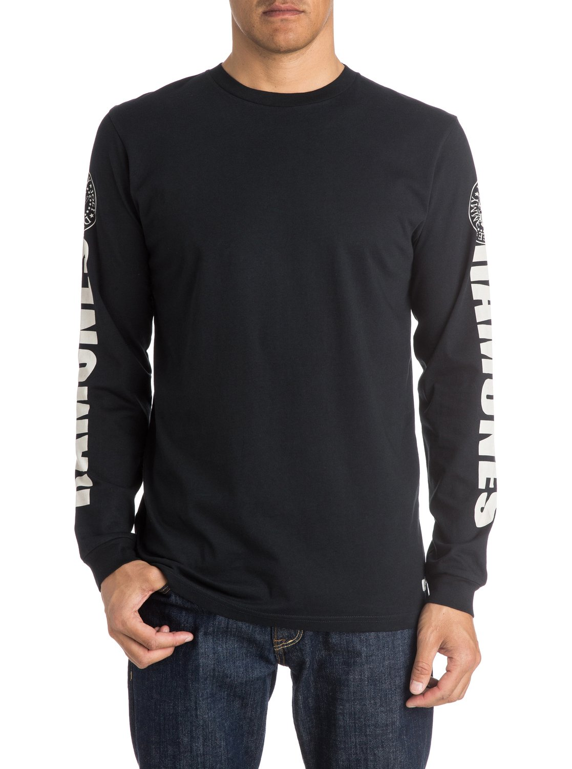 R13 Long Sleeve Boat Neck in Ecru with Black Ramones Stripe features a relaxed fit, long sleeve, striped tee shirt with boat neck; Shop R13 at distrib-u5b2od.ga JavaScript seems .