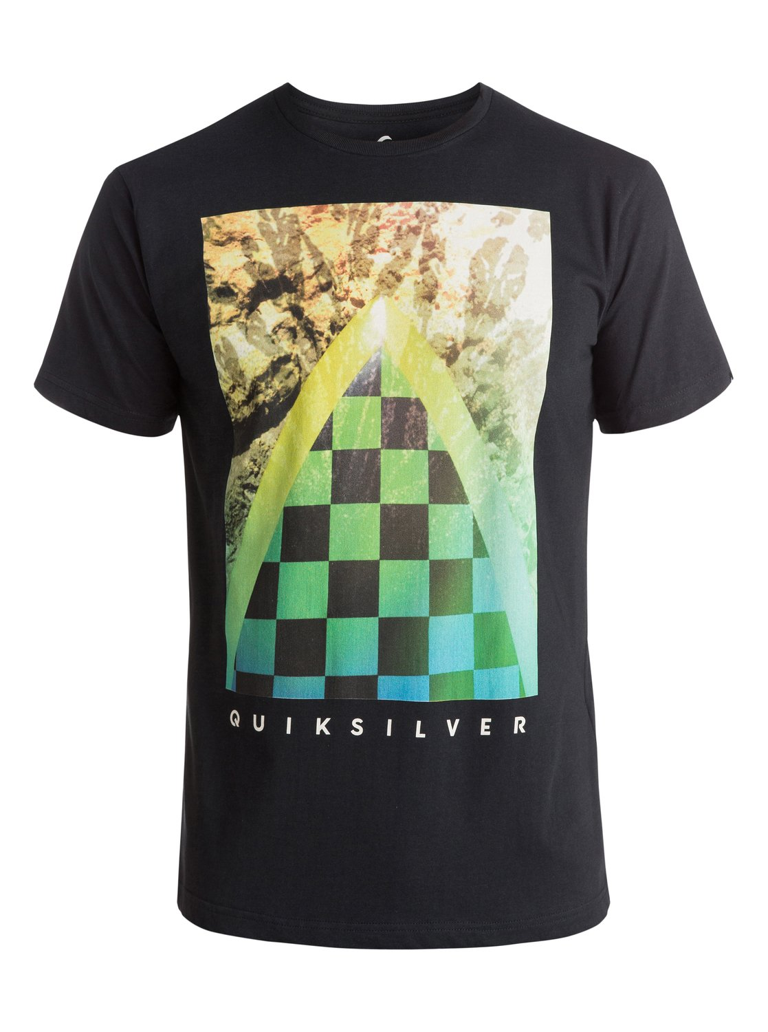 Classic Checker Channel - T-Shirt - Quiksilver<br>