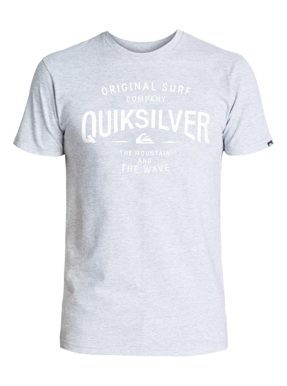 Mens Classic Claim It T-ShirtМужская футболка Classic Claim It от Quiksilver.ХАРАКТЕРИСТИКИ: короткие рукава, мягкий натуральный трикотаж, легкий текстиль, стандартный крой.СОСТАВ: 100% хлопок.<br>