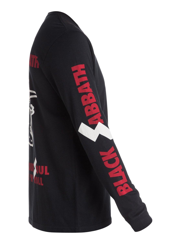 Black sabbath t shirt xxl - 1 Quiksilver Music Collab Black Sabbath Sold Our Soul Long Sleeve T Shirt Black
