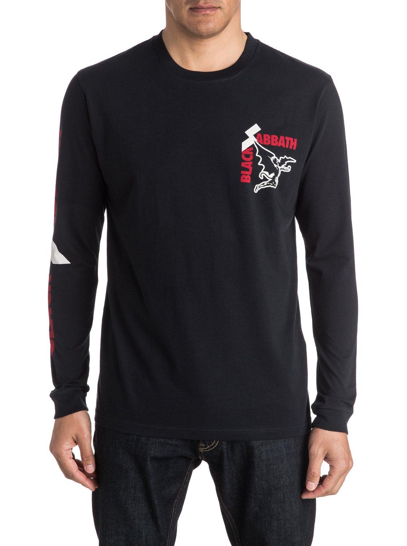 Black sabbath t shirt xxl - 3 Quiksilver Music Collab Black Sabbath Sold Our Soul Long Sleeve T Shirt Black
