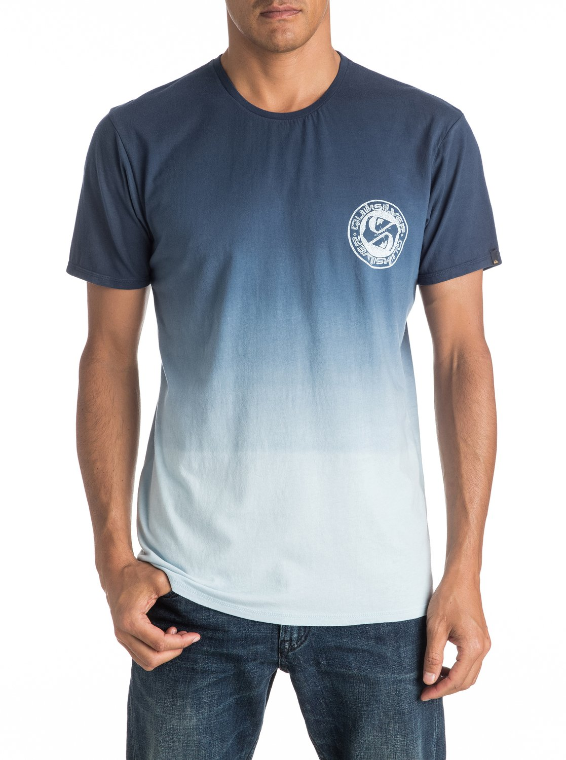 Specialty triple fade tee shirt eqyzt04279 quiksilver for Faded color t shirts