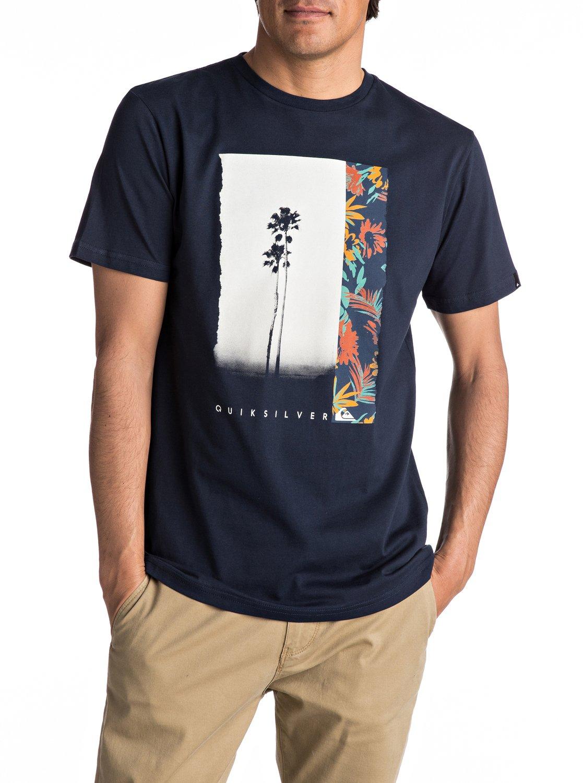 classic meridian t shirt 3613373000583 quiksilver. Black Bedroom Furniture Sets. Home Design Ideas