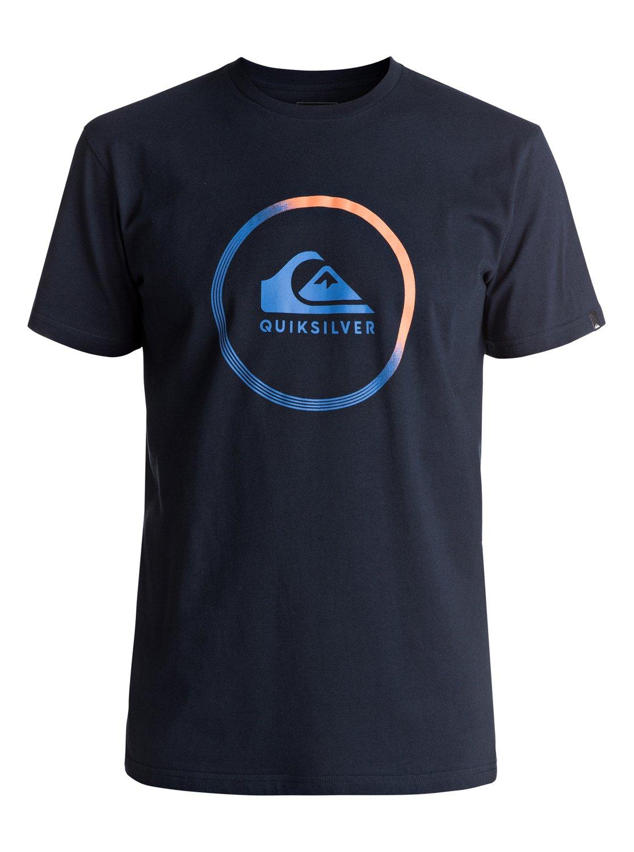 classic active logo t shirt 3613372995026 quiksilver. Black Bedroom Furniture Sets. Home Design Ideas