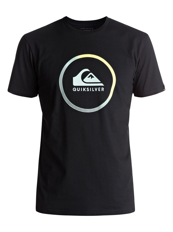 classic active logo t shirt 3613372985270 quiksilver. Black Bedroom Furniture Sets. Home Design Ideas