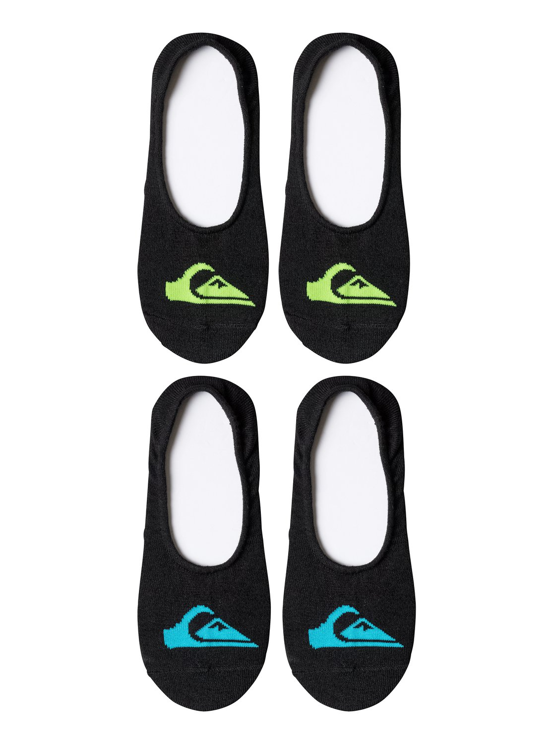 Quiksilver Logo Invisible Liner socks - 2 Pack