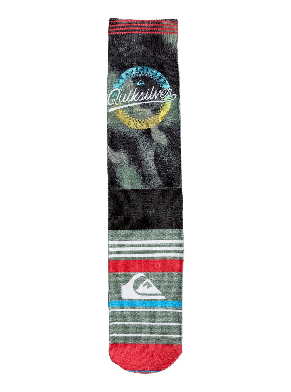 Quiksilver - Printed Crew Socks