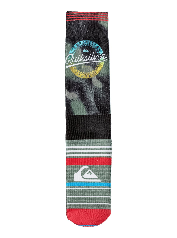 Quiksilver - Printed Crew Socks<br>