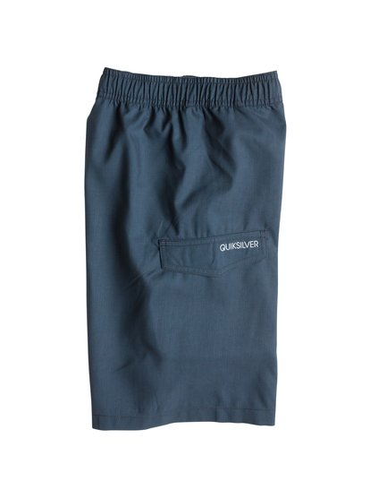 Logo Vl Youth 18Купальные шорты для мальчиков от Quiksilver – новинка из коллекции Весна 2015. Характеристики: ткань Supersuede из переработанного сырья с сертифицированным происхождением, стандартный крой, длина 45.7 см по внешнему шву.<br>