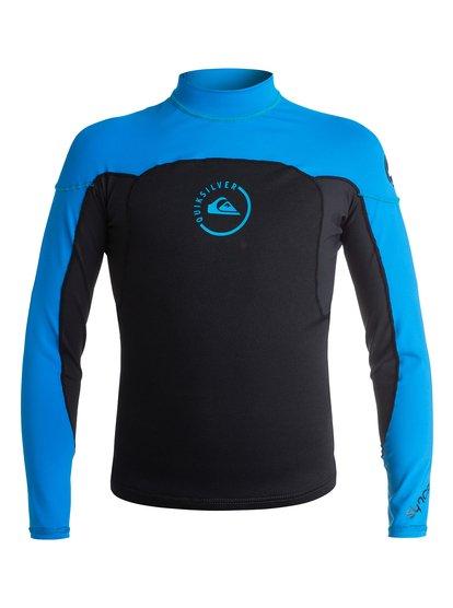 T-shirt de surf néoprène manches longues Syncro 1 mm pour garçon - Noir - Quiksilver