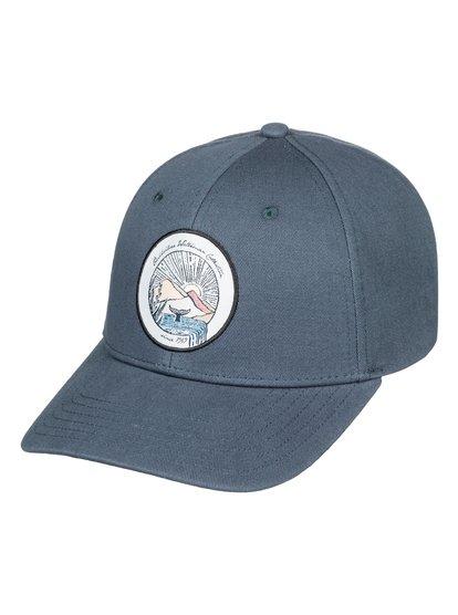 Waterman Stream dripper - casquette snapback pour homme - bleu - quiksilver