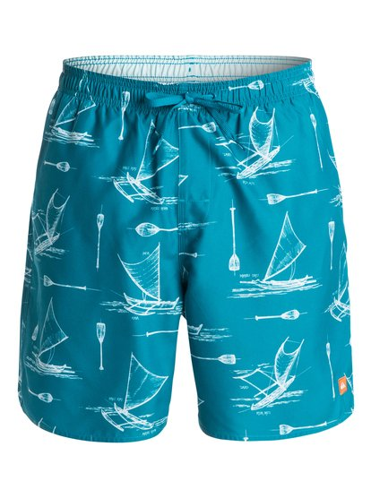 Quiksilver Mens Halawa Volley Boardshorts in Celestial or Dark Slate