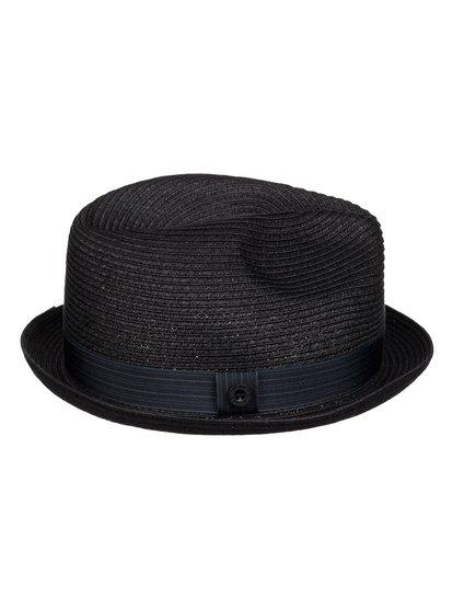 Mens Falseto Straw TrilbyМужская соломенная шляпа Falseto от Quiksilver. <br>ХАРАКТЕРИСТИКИ: плотное плетение, фасон «федора» с узкими полями, нейлоновая лента, маркировка Quiksilver на тулье. <br>СОСТАВ: 100% бумага.<br>