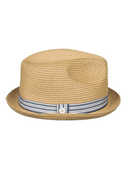 Men's Falseto Straw Trilby от Quiksilver RU