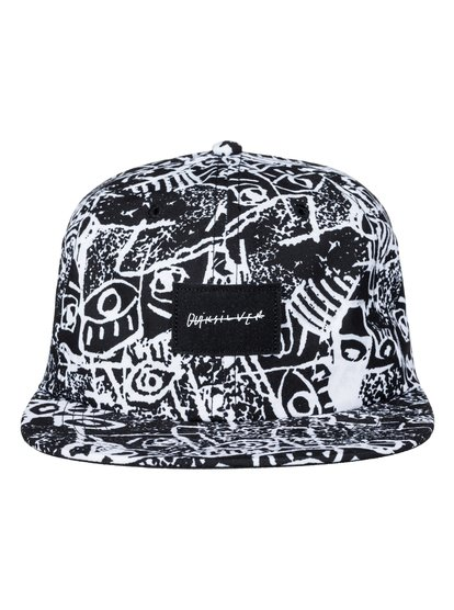 Nighty - Snapback CapPart of our Spring/Summer Originals Collection, this printed baseball cap for men comes with an easy snapback closure, 6-panel unstructured design and 2 grungy prints that will take your summer look right through to sundown. Just take your pick.<br>