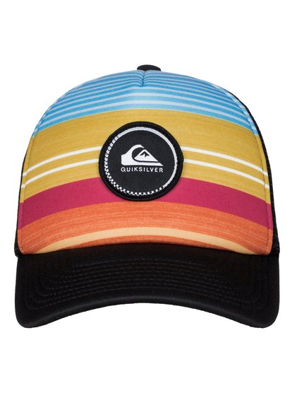 бе-йсболка-trucker-striped-vee