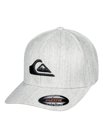 Mountain And Wave - Casquette Flexfit pour Homme - Gris - Quiksilver