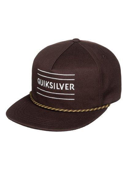 Fold Snapper - Casquette snapback pour Homme - Marron - Quiksilver