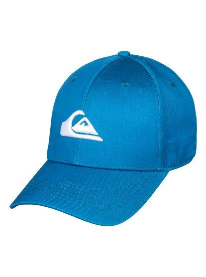 Decades - casquette snapback pour homme - bleu - quiksilver