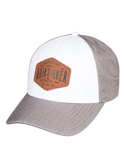 Sleater Vine - Casquette trucker pour Homme - Blanc - Quiksilver