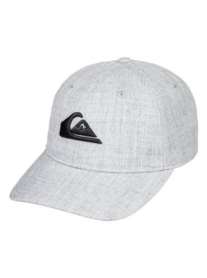Charger Plus - casquette snapback pour homme - gris - quiksilver