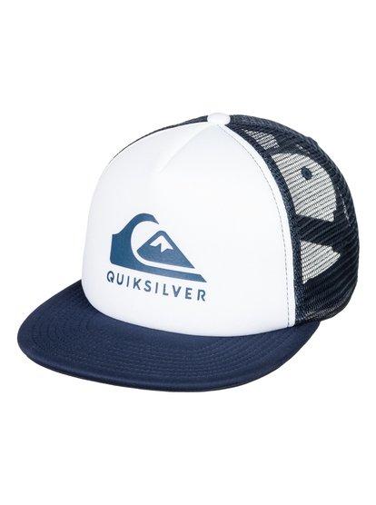 Foamslay - Casquette trucker pour Homme - Blanc - Quiksilver
