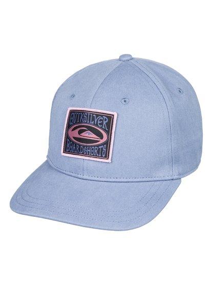 Dorry - casquette snapback pour homme - bleu - quiksilver