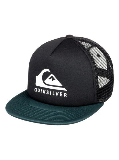 Foamslay - casquette trucker pour homme - noir - quiksilver