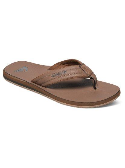 Carver Nubuck - sandales pour homme - beige - quiksilver