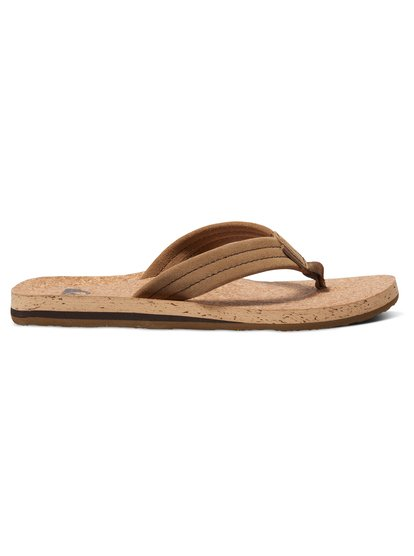 Замшевые сандалии Carver Cork&amp;nbsp;<br>