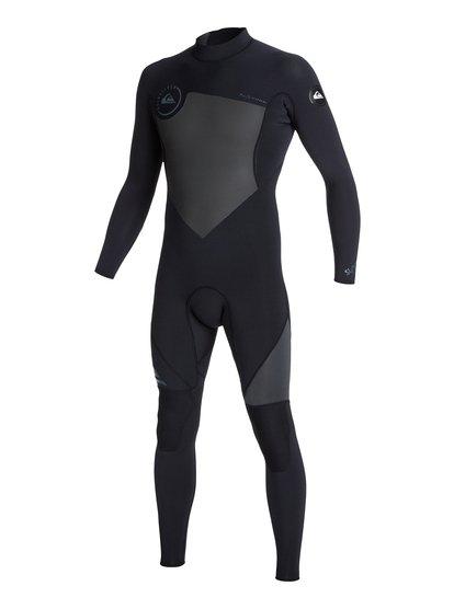 Syncro Flatlock 3/2mm - Back Zip Wetsuit  AQYW103039