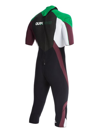 Syncro Mens 3/2mm Wake S/sl Backzip Quiksilver 7990.000