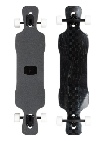 "Racing Drift - 40"" Downhill Freestyle Longboard Complete  EGLRACINGD"