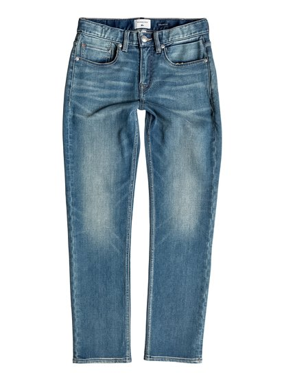 Revolver Stormy Blue - Straight Fit Jeans  EQBDP03100