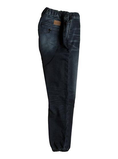 Узкие джинсы джоггеры Fonic Dark Blue<br>