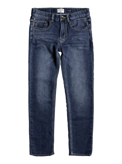 Revolver Hash Blue - Straight Fit Jeans  EQBDP03138
