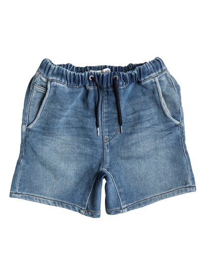 Fonic Denim Fleece - Denim Shorts  EQBDS03027