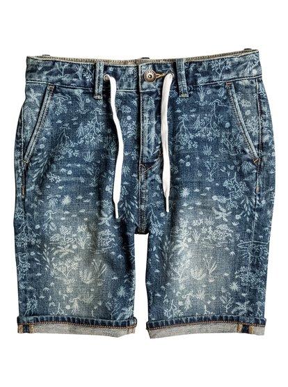 Bloom Field - Denim Shorts  EQBDS03043