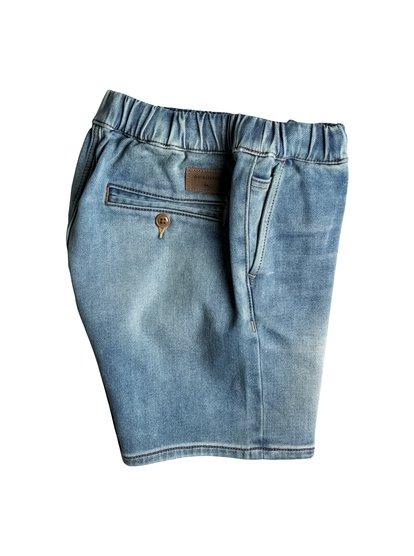 Узкие джинсовые шорты Fonic Creamy<br>